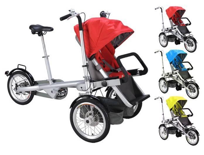 Коляска велосипед-трансформер: обзор детской модели для ребенка и взрослой – для мамы - kidspower - дети, цветы жизни!