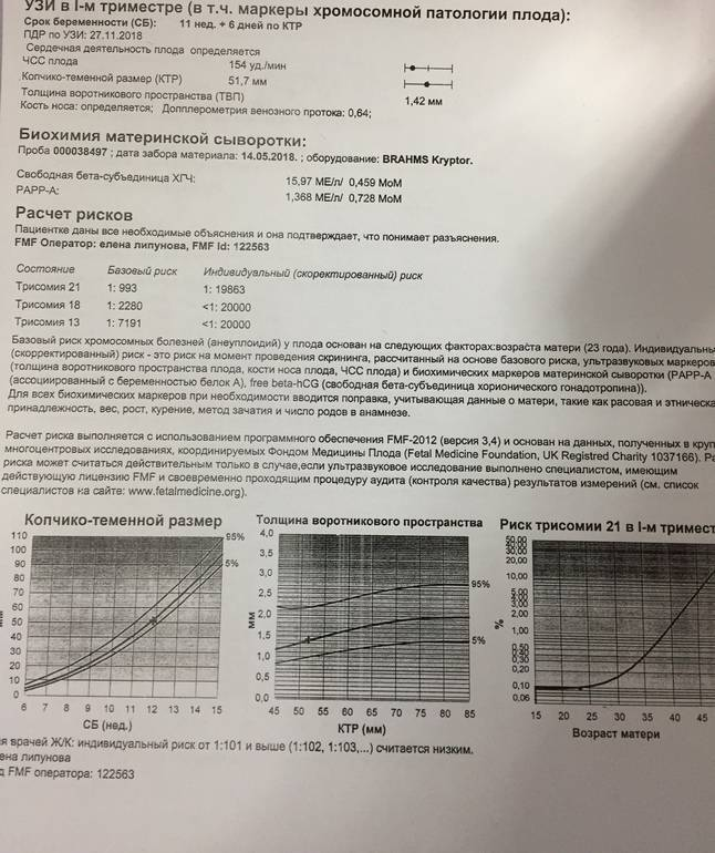 Генетический риск осложнений беременности и патологии плода: диагностика, анализ, тест | клиника «линия жизни» в москве