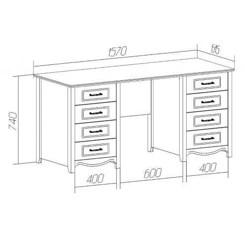 Стандартная высота письменного стола для школьника: госты и нормы