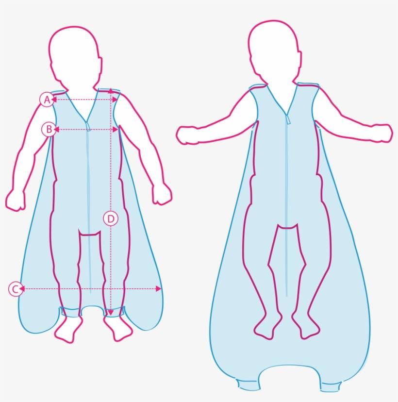 Мешок для сна для новорожденных своими руками