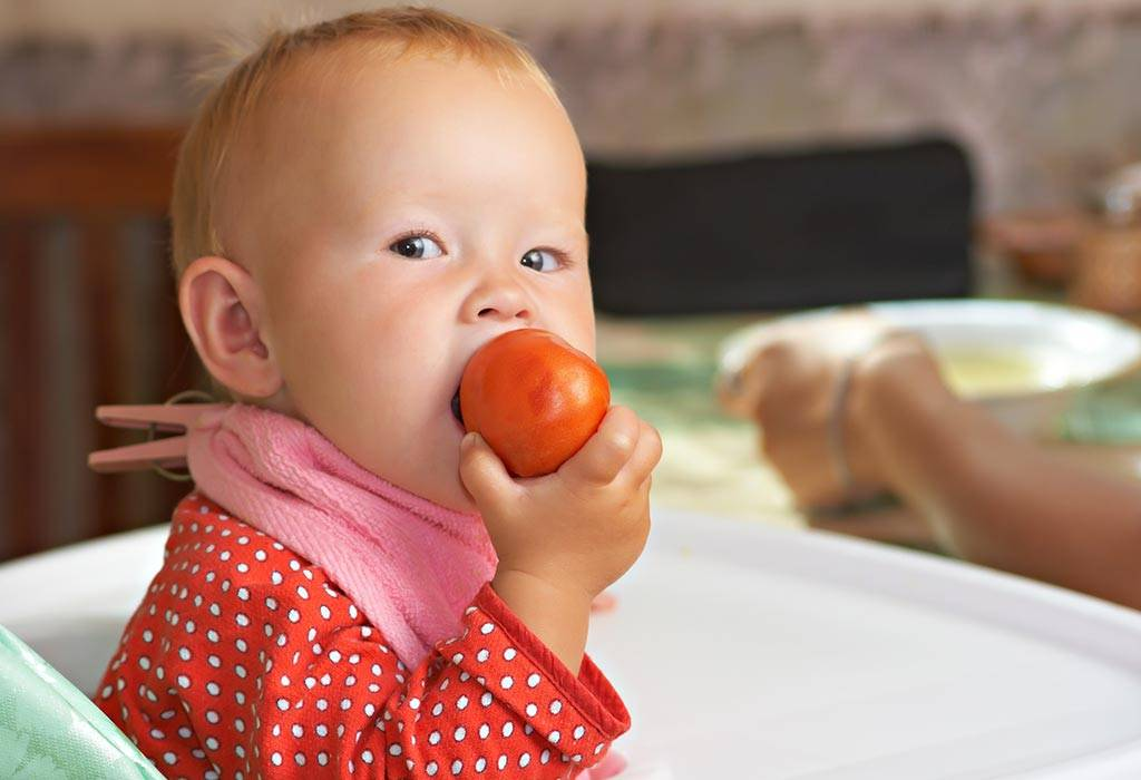 Можно свежий помидор кормящей маме