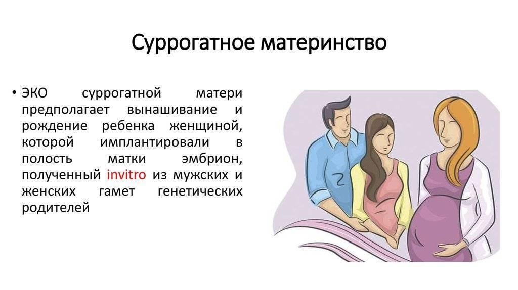 Суррогатное материнство в россии - законодательство 2020