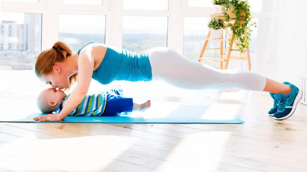 Можно ли заниматься спортом при грудном вскармливании
