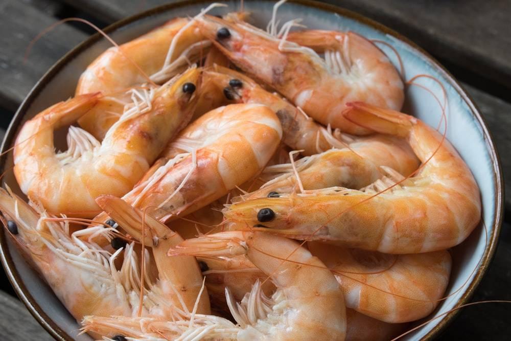 Можно ли кормящей маме употреблять в пищу креветки?