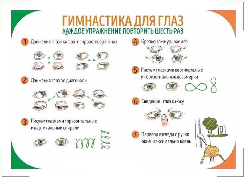 Упражнения для расслабления мышц глаз при близорукости - энциклопедия ochkov.net