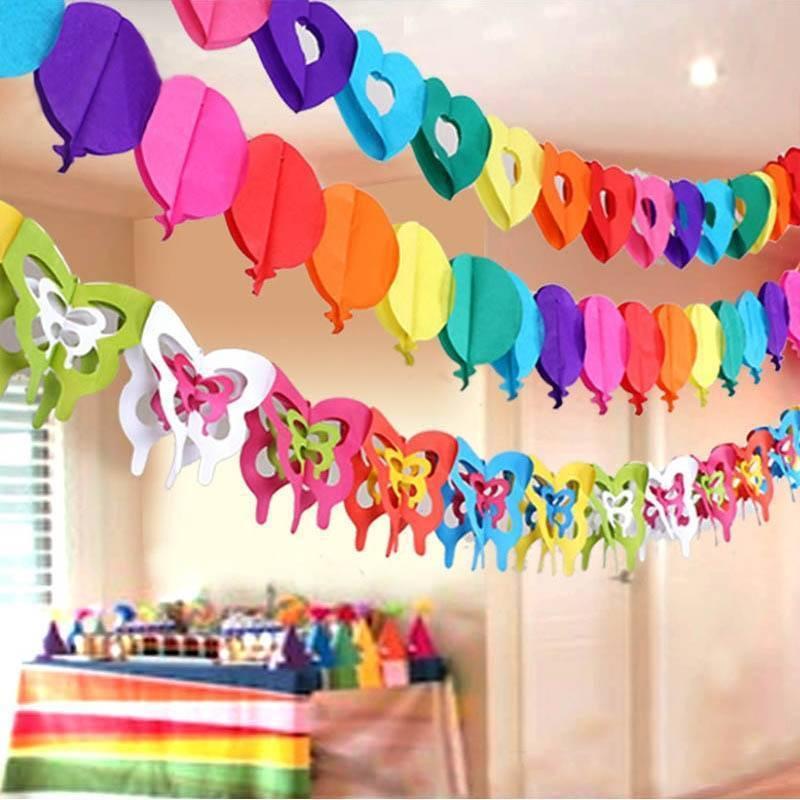 Украшения на день рождения ребенка своими руками: идеи для украшений и декора комнаты