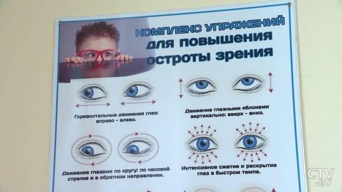 Какие упражнения для глаз помогут при астигматизме?