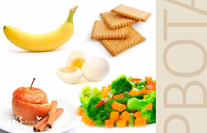 Чем кормить ребёнка после отравления