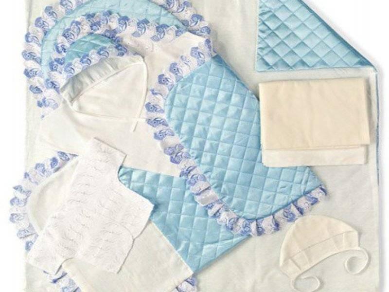 Одеяло-трансформер для новорожденного на выписку: зимний или летний своими руками, выкройки