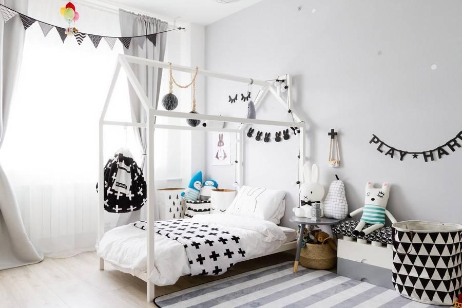 Дизайн детских комнат в швеции