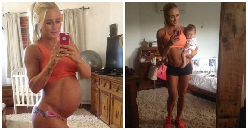 История эффективного похудения после родов: комплексный подход + позитивный настрой   активная мама