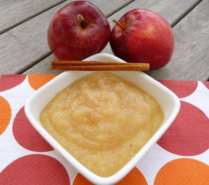 Как готовить яблочное пюре для грудничка