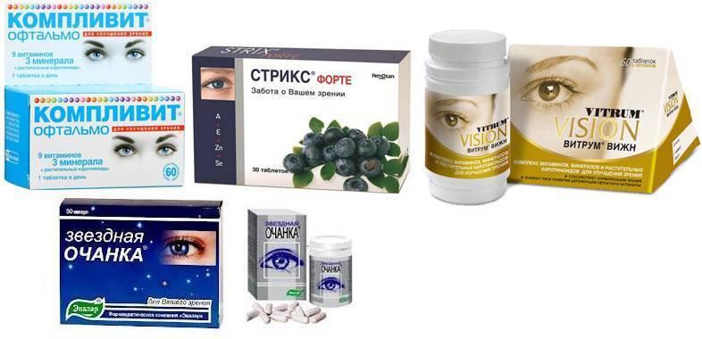 Витамины для глаз при близорукости у детей
