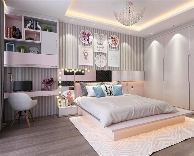 Как оформить комнату для девочки 10-12 лет?