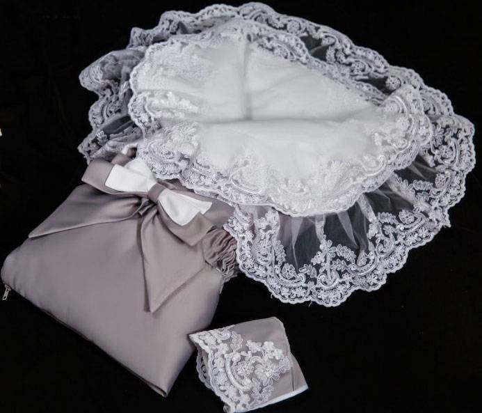 Бант на выписку для новорожденного своими руками: как сшить ленту для конверта?