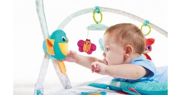 Всё про развивающие коврики для детей от 0 до 1 года и старше