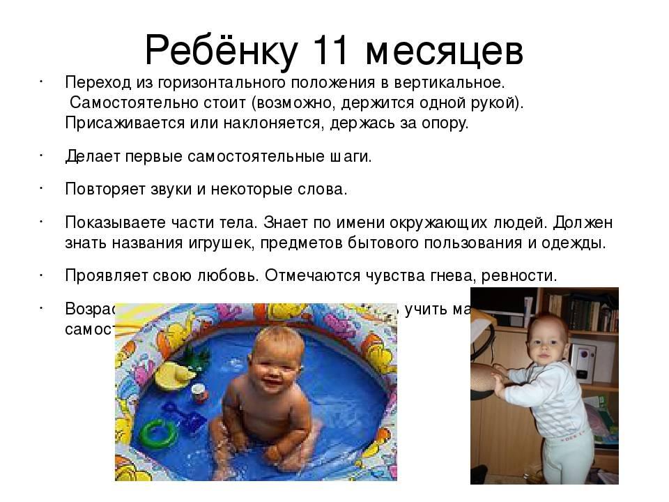 Особенности развития ребенка в 11 месяцев   без соски - здоровое развитие ребенка