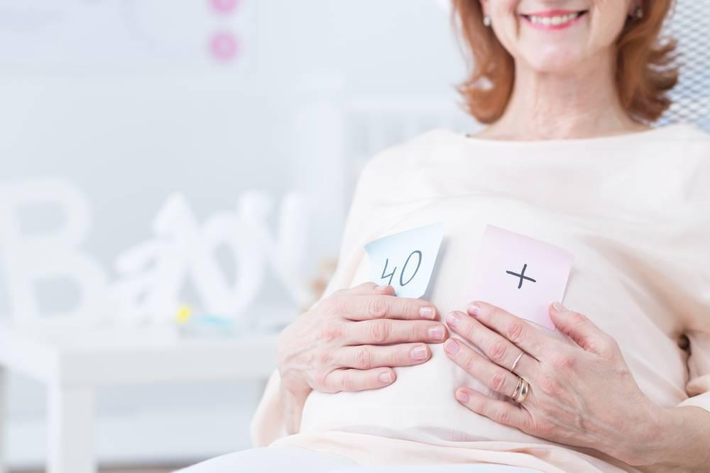 «беременностью после 40 лет женщины сильно рискуют подорвать свое здоровье» | медицинская россия