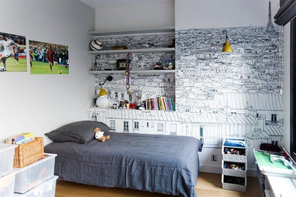 Какие обои выбрать для комнаты мальчика-подростка?