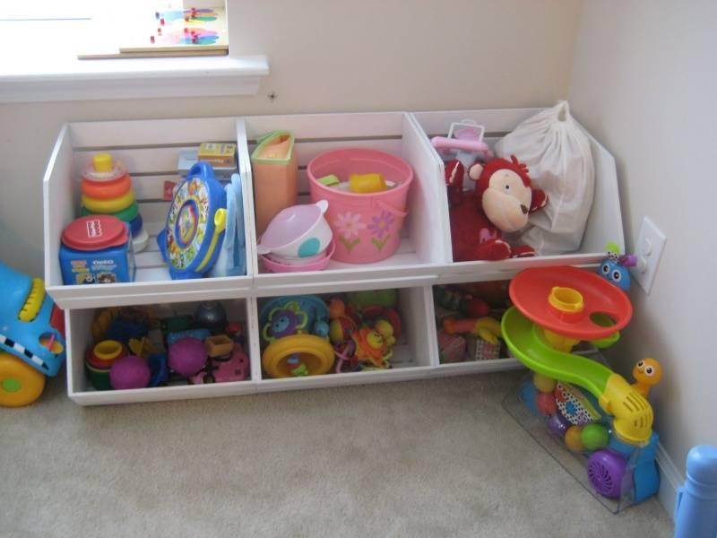 Хранение игрушек в детской комнате: 20 лучших идей и как сделать коробку своими руками