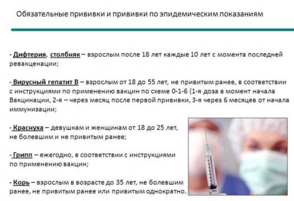 Вакцина от столбняка – где сделать, реакция, срок действия