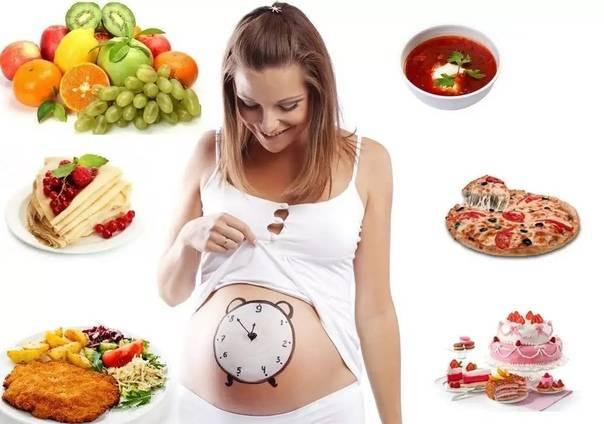 Правильное питание для беременных, беременность без лишнего веса
