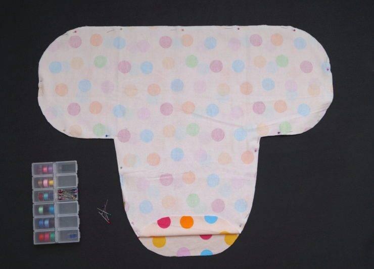 Пеленка кокон для новорожденного: инструкция по изготовлению и применению