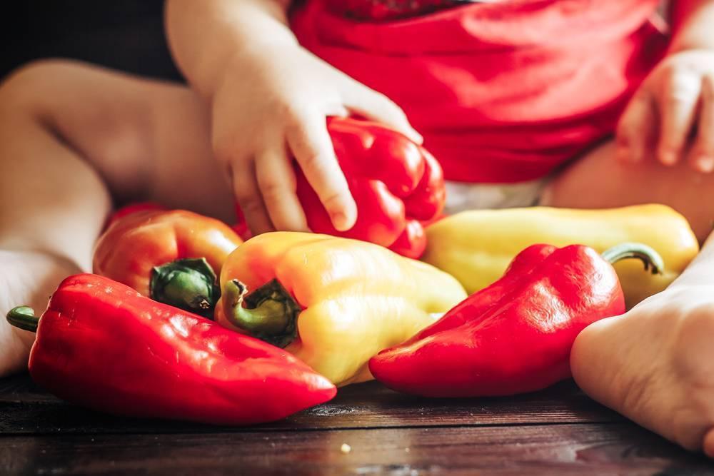 Когда можно давать ребенку болгарский перец