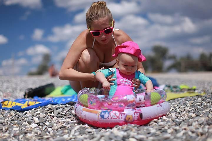На море с годовалым ребенком?!