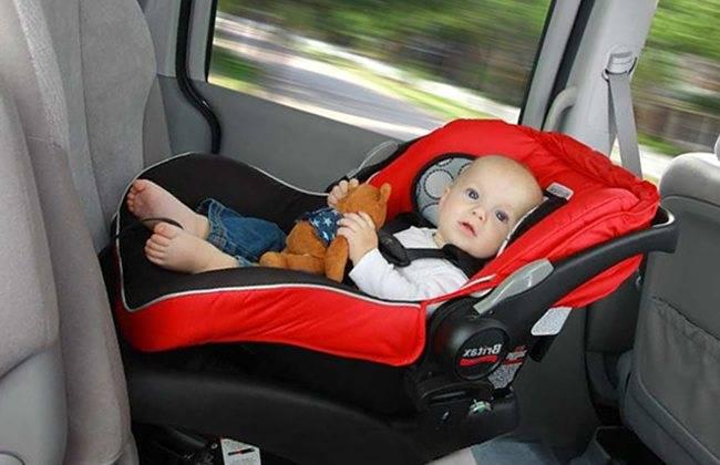 Штраф за отсутствие детского кресла в 2020 году