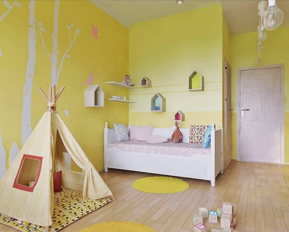 Сиреневая и фиолетовая детская комната: 40+ фото, идеи дизайна