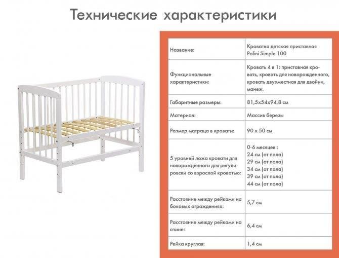 Размеры подростковой кровати