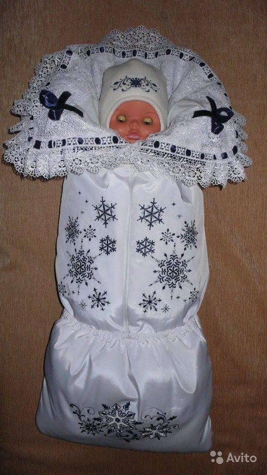 Как сшить уголок для новорожденного с кружевом на выписку своими руками.