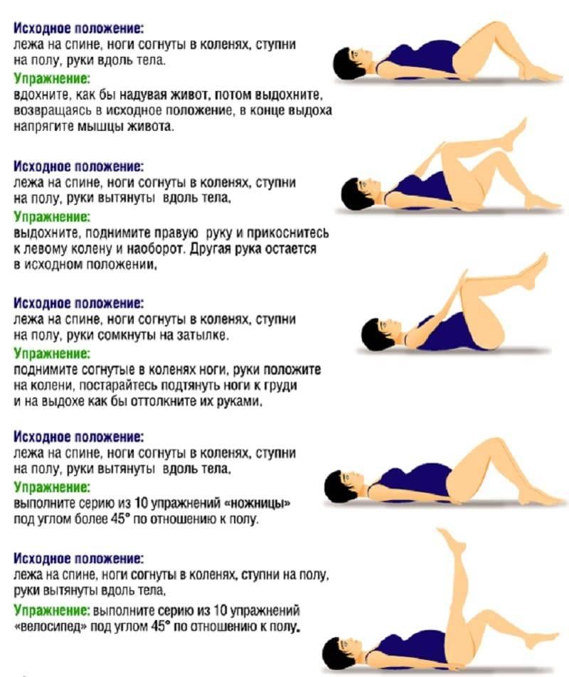 Основные упражнения кегеля для беременных