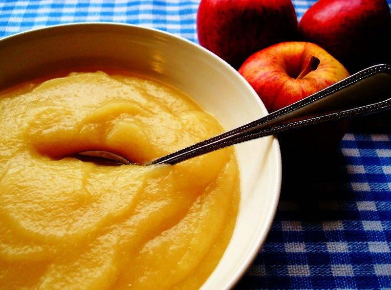 Яблочное пюре для грудничка из свежих яблок своими руками — рецепт