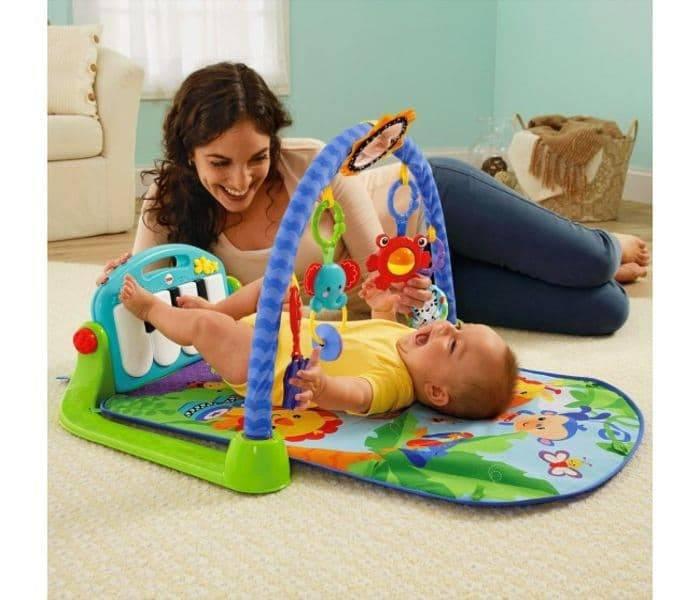 Выбираем детский игровой коврик для ребенка