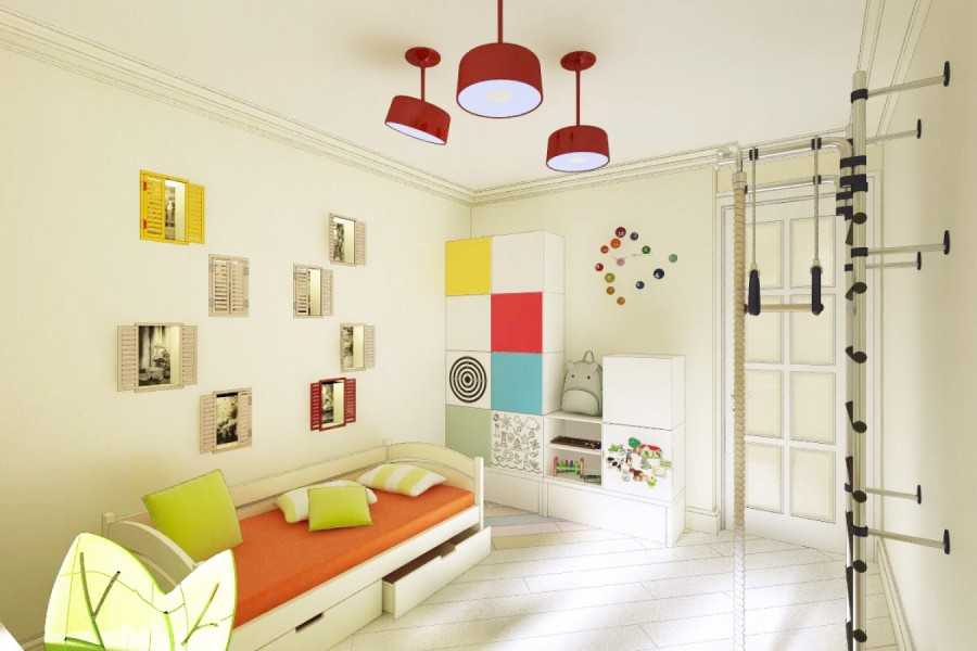 Правила зонирования комнаты на гостиную и детскую, идеи для дизайна и совмещения