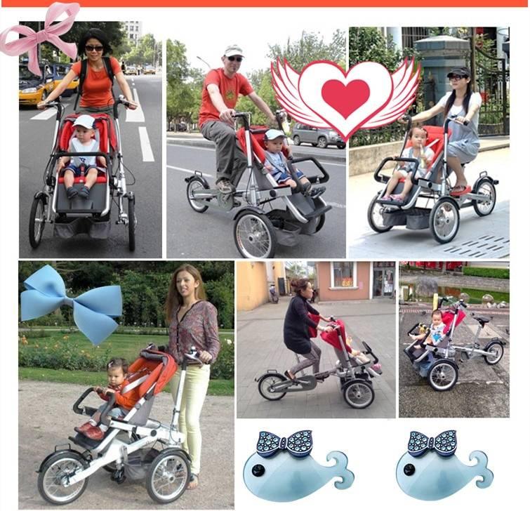 Велосипед-коляска: виды и выбор