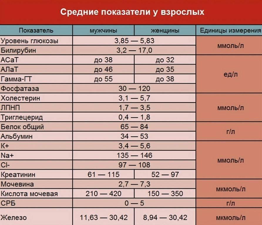 Биохимический анализ крови у детей: показатели, норма