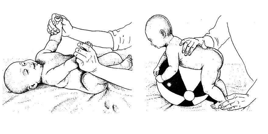 Лечебная физкультура для грудничков