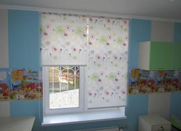 Выбираем в детскую комнату: шторы, занавески, гардины и портьеры
