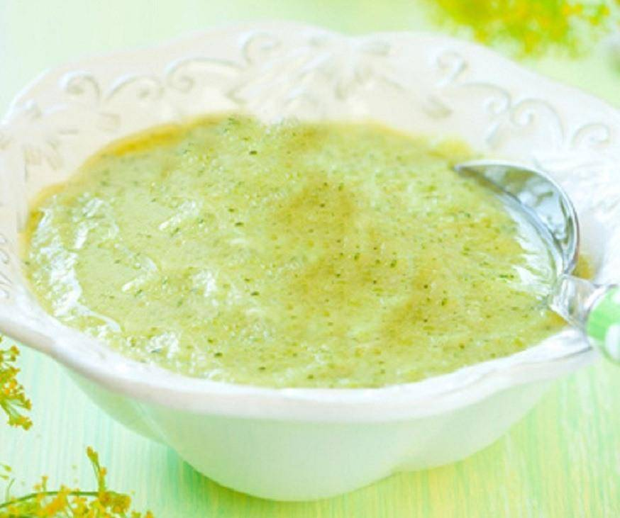 Способы приготовления пюре из брокколи для прикорма грудничка