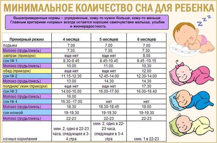 Режим дня грудного ребенка | режим дня новорожденного