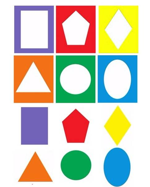 Учим геометрические фигуры с малышами от 1 года   скачать картинки
