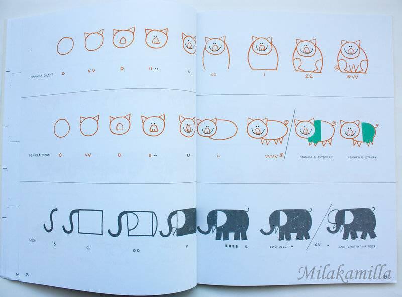 Вдохновляющие инструкции пошагового рисования эда эмберли | море творческих идей для детей