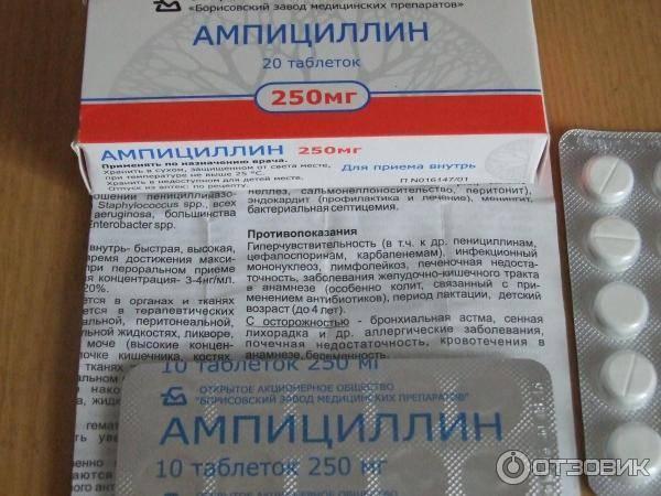 Ампициллин таблетки (ampicillin таблетки)