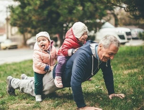 Внуки — наследие любви
