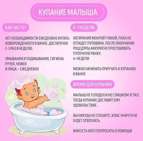 Как часто нужно купать ребенка до года – полезные советы