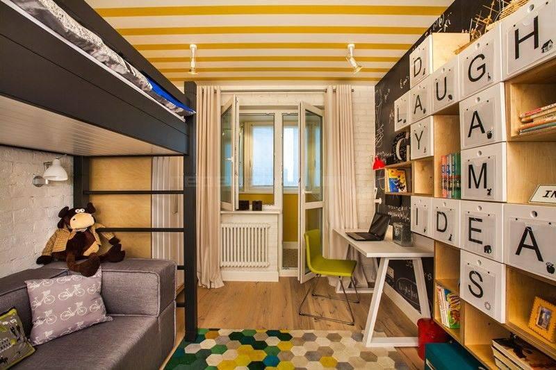 Как оформить детскую площадью 10 кв. м удобно и безопасно