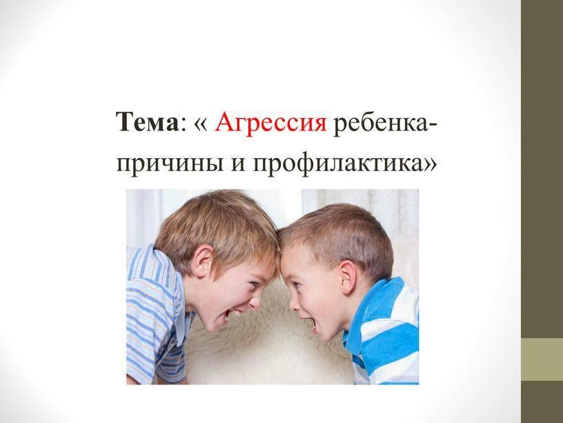 Как общаться с агрессивным ребенком? советы и наблюдения опытного учителя - методика преподавания  - преподавание - образование, воспитание и обучение - сообщество взаимопомощи учителей педсовет.su